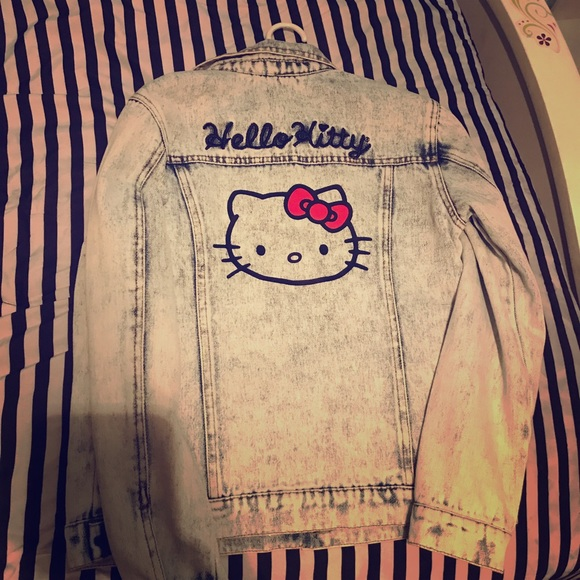 4ce6f7373 Hello Kitty Jackets & Coats | Girls Vintage Jacket | Poshmark